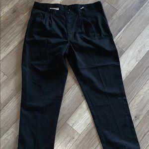 Mens black dickies work cargo pants 42x32